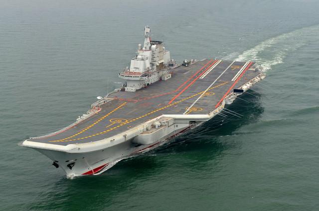 "Plovi da bi sproveo ""naučna istraživanja, testove i vojne vežbe"": Liaoning"