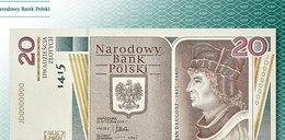 Oto niezwykły banknot