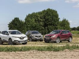 Trzy modne SUV-y za 50 tys. zł – który będzie najlepszym wyborem?