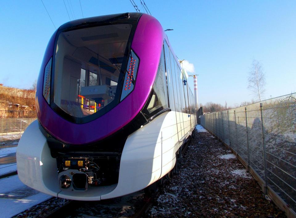 Pociągi Metropolis dla Rijadu mają 36 metrów długości. Pomieszczą do 231 pasażerów.