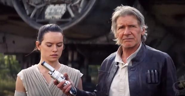 """""""Gwiezdne wojny: Przebudzenie mocy"""": Han Solo w nowym klipie"""