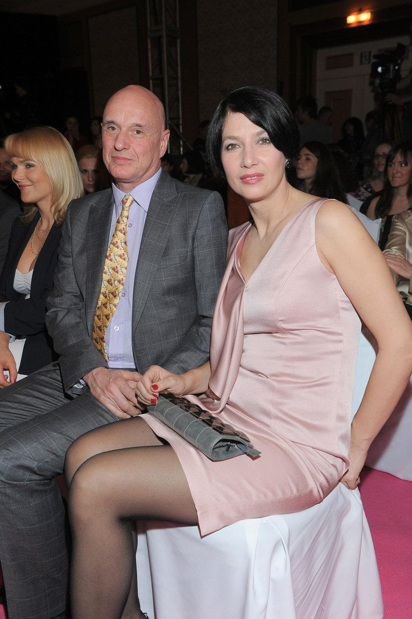 Grażyna Wolszczak i Cezary Harasimowicz