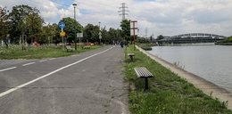 Kraków. Bulwary zamkniętę dla pieszych i rowerzystów
