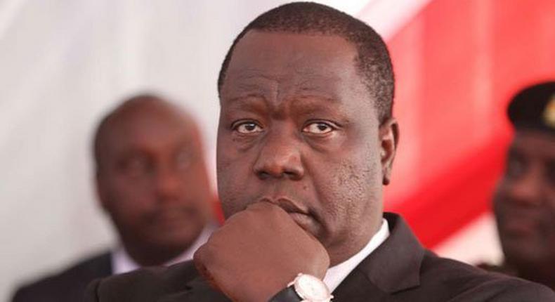 Interior Cabinet Secretary Fred Matiang'i. (Kenya today)