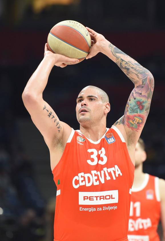Maik Cirbes, košarkaš Cedevita Olimpije