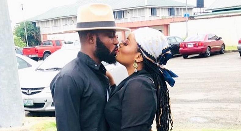 BBNaija's Tega and her husband AJ [Instagram/AJMoney001]