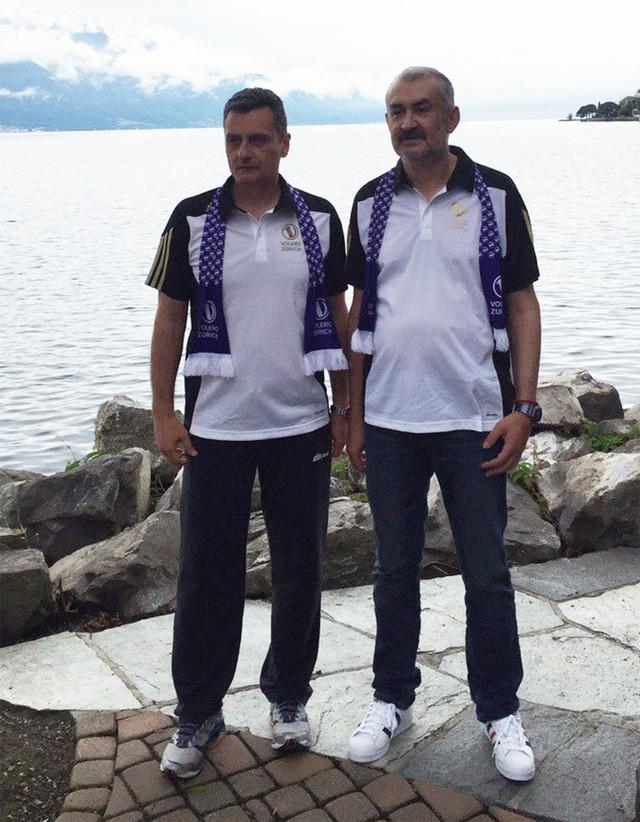 Zoran Terzić i Željko Bulatović