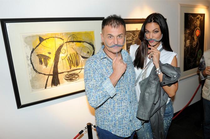 Branislav Lečič i Nina Radulović