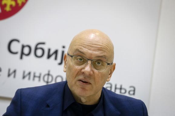 Ministar kulture i informisanja Vladan Vukosavljević na konferenciji povodom Kustendorfa