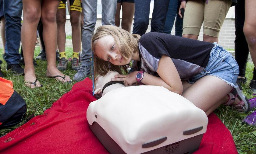 Koniecznie naucz dziecko pierwszej pomocy