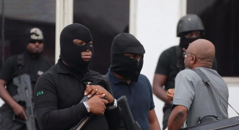Operatives of the Department of State Services (DSS)