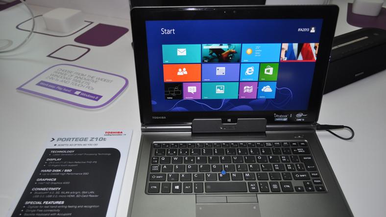 Oto najnowszy ultrabook Toshiby z dyskiem SSD