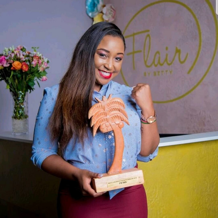 Betty Kyallo's Flair By Betty Wins Best Luxurious Beauty