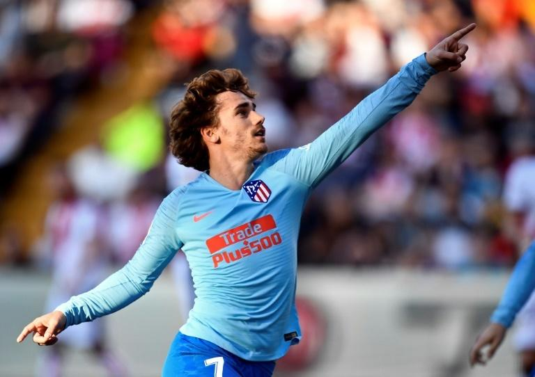 Atletico Madrid's Antoine Griezmann has scored four goals in six Champions League games this campaign