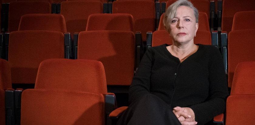 """""""Wiadomości"""" skrytykowały Krystynę Jandę. Wyciągnęli jej szokujące słowa"""