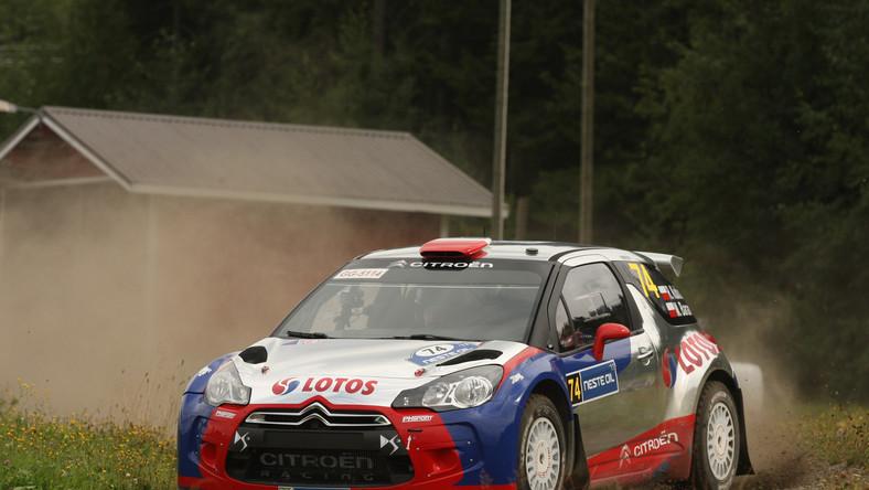 Kubica drugi w klasie WRC2 w Rajdzie Finlandii