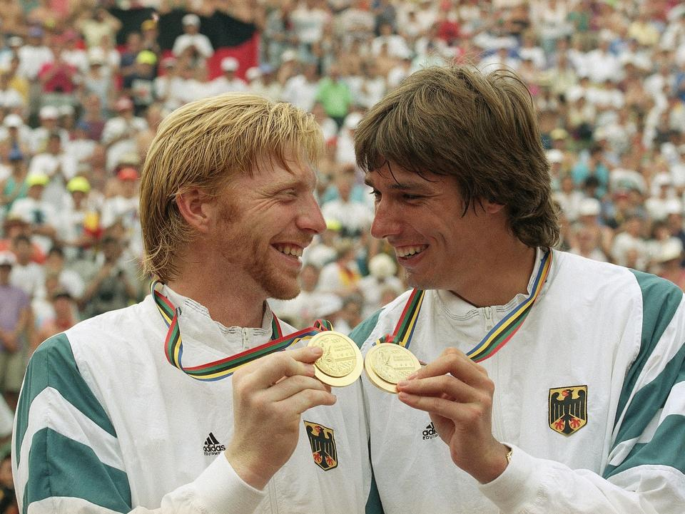 Boris Becker i Michael Stich