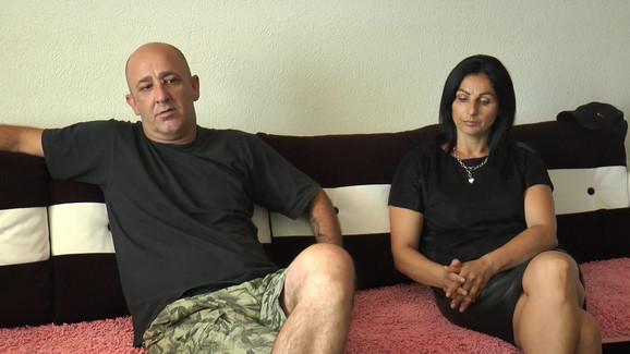 Radenkovi roditelji, otac Milan i majka Zorica