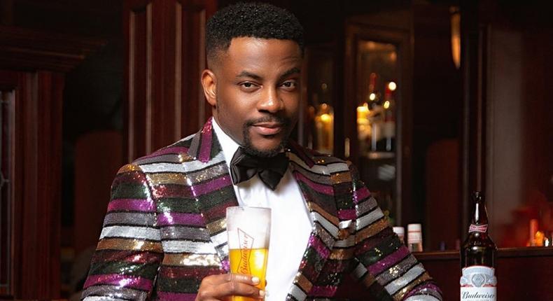 Ebuka made fashion statement as he hosts the 43rd Miss Nigeria pageant [Instagram/ Ebuka Obi-Uchendu]