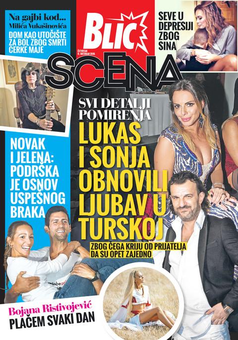Nova Blic Scena donosi sve detalje pomirenja Lukasa i Sonje!