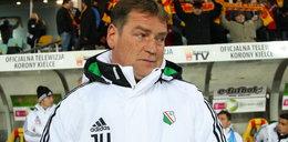 Legia przegrała przez trenera