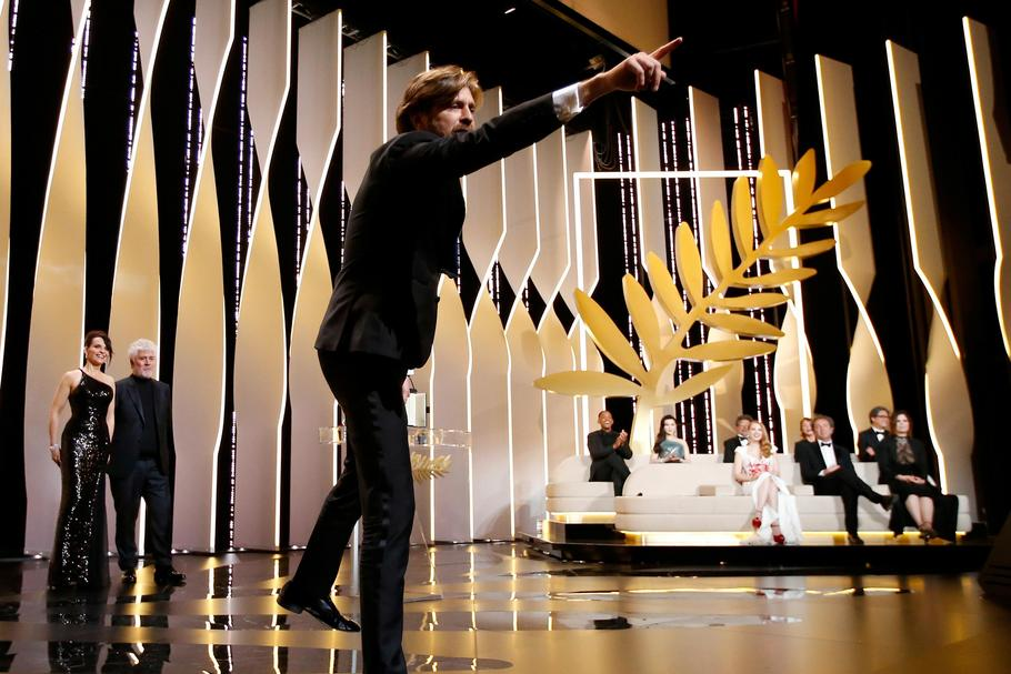 70th Cannes Film Festival - Closing ceremony - Palme d'Or Award