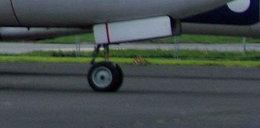 Samolot leciał z Polski na Korfu. Przy starcie pękła opona