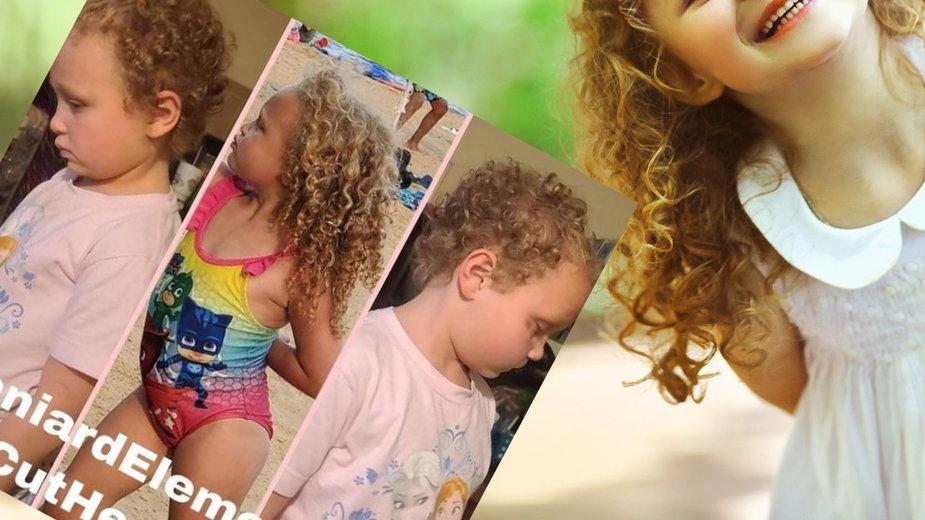 Nauczycielka ścięła dziewczynce włosy (zdj. shutterstock/ Rohappy; Instagram.com/jimmyhoffmeyer)