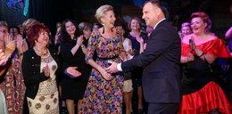 Agata Duda tańczyła z kobietą na imprezie