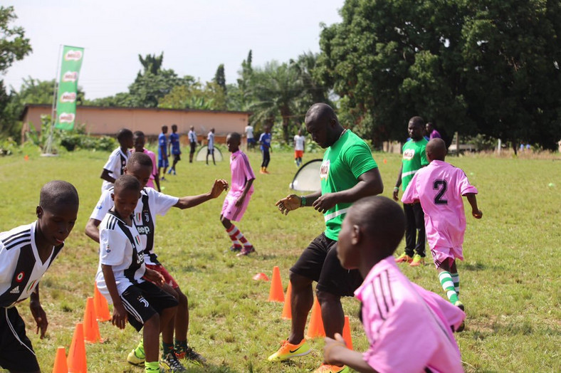 Zone 4 soccer clinic