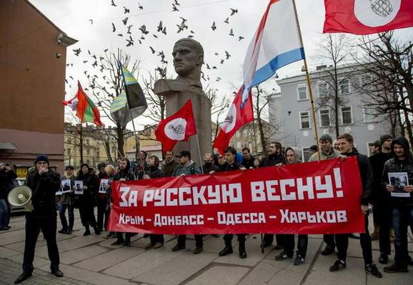 Demonstracije proruskih aktivista u Odesi