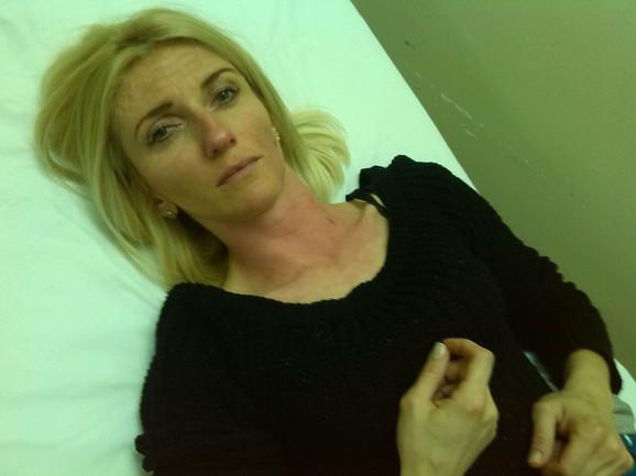 Vidljivi tragovi davljenja na vratu: Jelena Lukić u bolnici