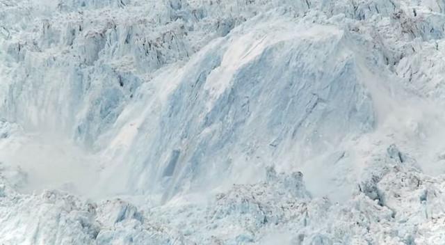 Orlovski i LeVinter su snimili odvajanje leda na grenlandskom glečeru