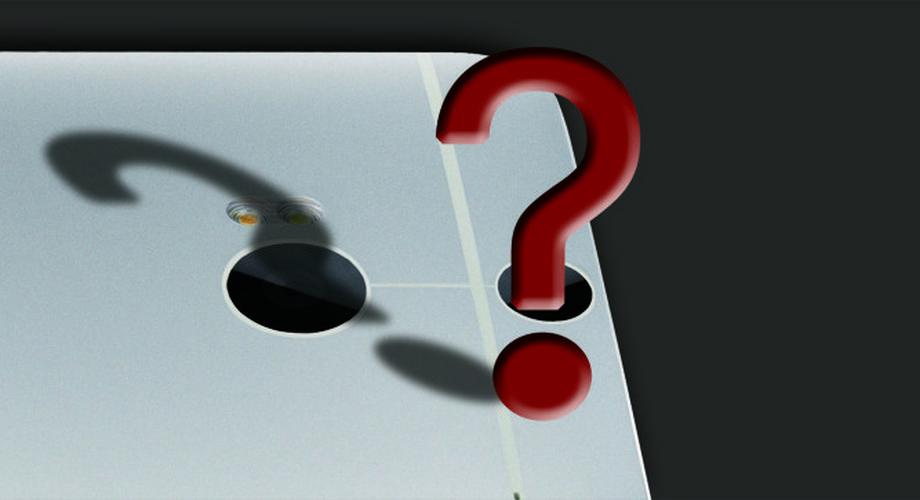 Was macht die zweite Kamera des neuen HTC One?