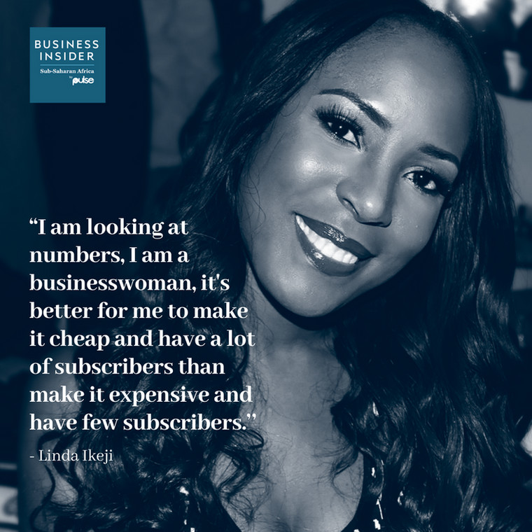Linda Ikeji talks to Business Insider