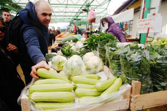 Brokoli i tikvice među najskupljima