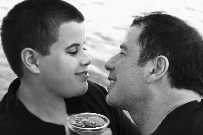 Džon Travolta sa sinom