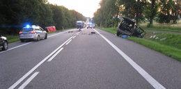 Makabryczny wypadek w Małopolsce. 21-latka nie żyje, 4 osoby ranne
