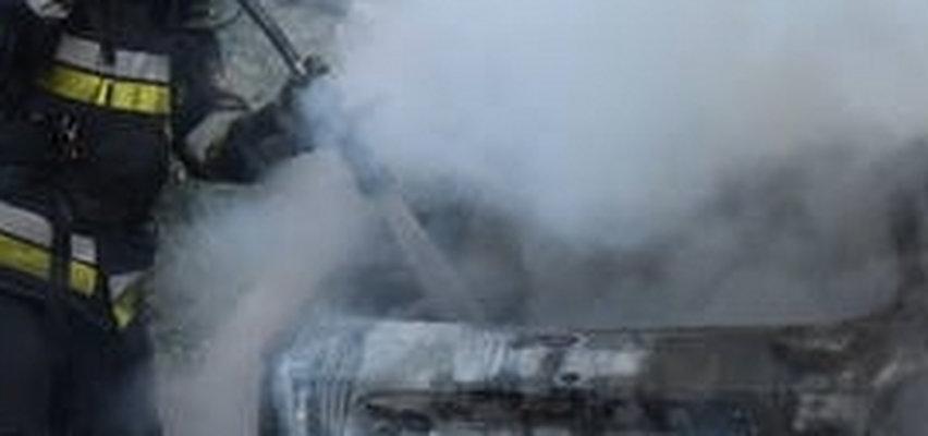 Podpalił radiowóz pod komisariatem we Wrocławiu! Wszystko się nagrało