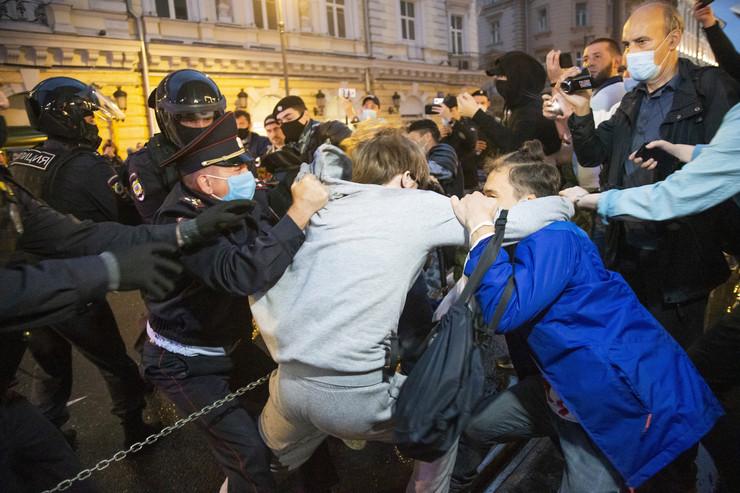 Rusija, Moskva, protesti