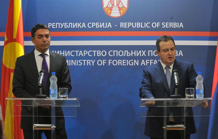 Ivica Dačić i Nikola Dimitrov u Nišu
