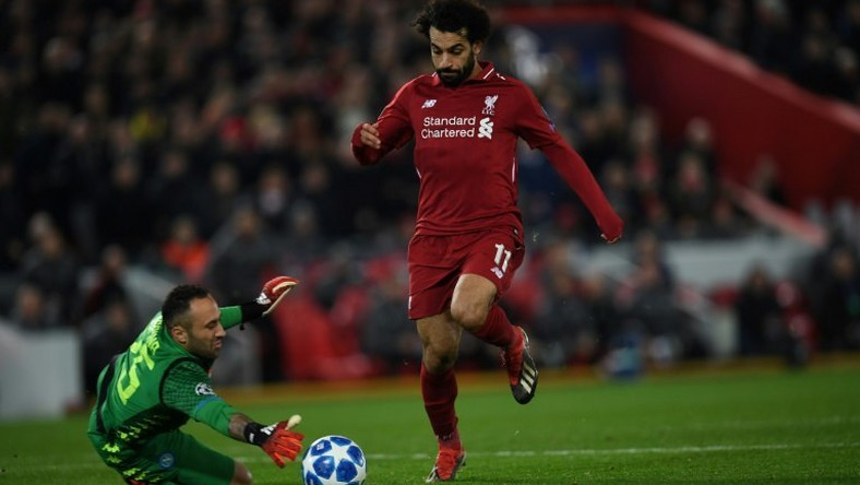 Because Mohamed Salah and his fellow strikers struggled to beat Napoli's David Ospina, Alisson Becker had to save Liverpool