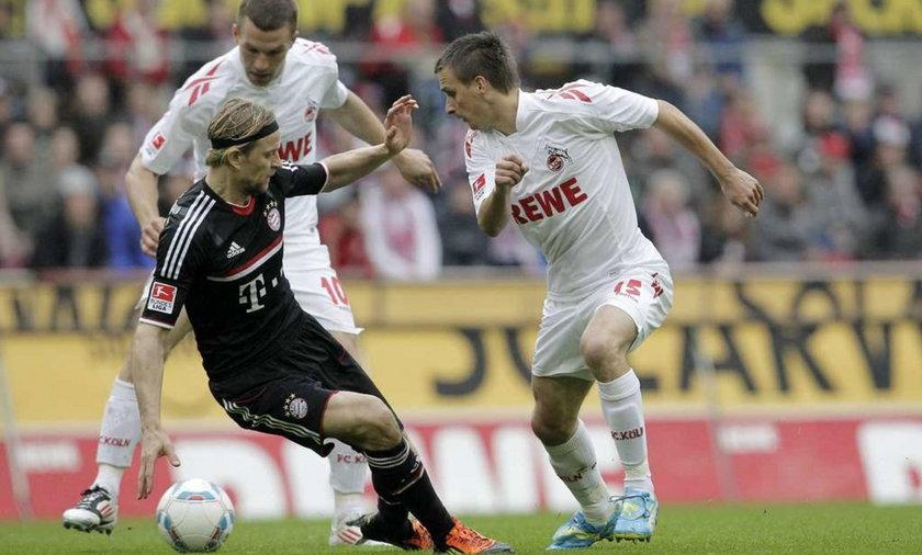 FC Koeln spadek z ligi zamieszki