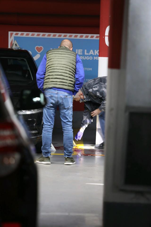 Uviđaj nakon pucnjave u garaži