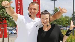 Katarzyna Kępka już ćwiczy z córką. Jak radzi sobie 3-miesięczna Jagna?