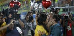 Lesbijka zrobiła na to Rio na oczach milionów