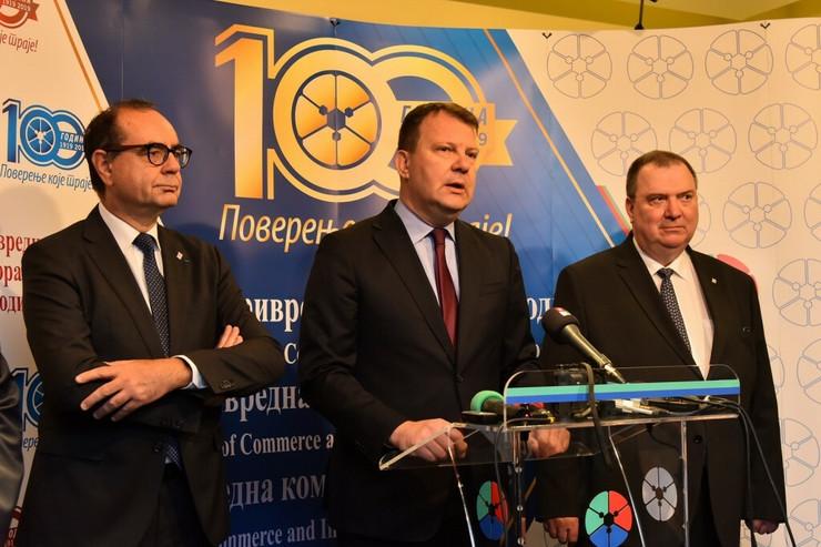 Igor Mirović, Poslovni forum sa Francuskom, Privredna komora Vojvodine