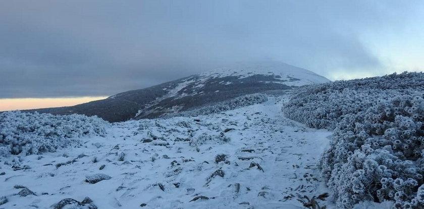 Atak zimy w górach. Temperatura nawet do minus 35 stopni