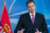Aleksandar Vučić Jens Stoltenberg NATO Brisel01 foto EPA STEPHANIE LECOCQ