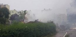 Potężny wybuch w Toruniu. Zawalił się dom jednorodzinny. Ratownicy przeczesują gruzowisko